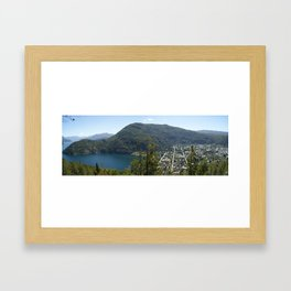 San Martin de los Andes, Argentina Framed Art Print