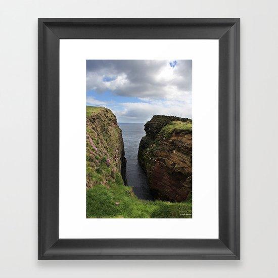 John O Groats Scotland Framed Art Print
