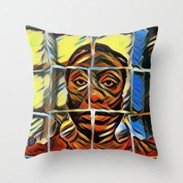 Digital Art Photography: Hope Unashamed Throw Pillow