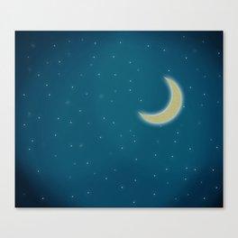 Moonlight Canvas Print