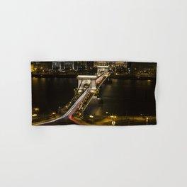 Budapest Chain Bridge Hand & Bath Towel