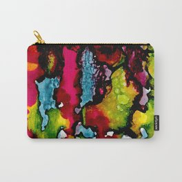 Primary Psychedelic Melt Down Carry-All Pouch