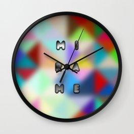 look at me design Wall Clock