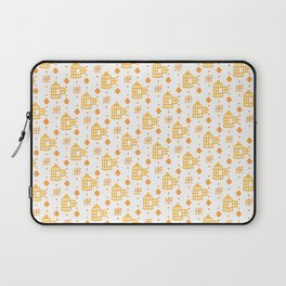 Gold Hand Pattern Laptop Sleeve