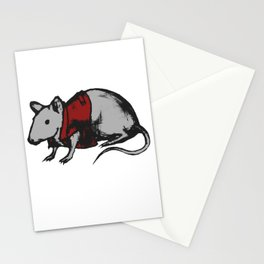 Punk mouse Stationery Cards