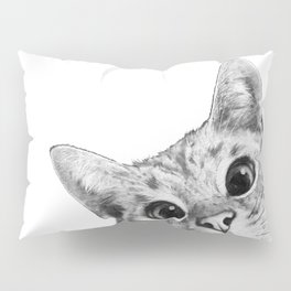 sneaky cat Pillow Sham
