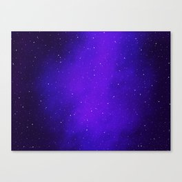 Oh the Stars Canvas Print