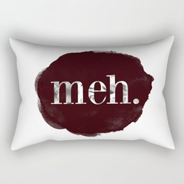 Meh floral watercolor Rectangular Pillow