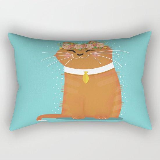 My Fair Kitty Rectangular Pillow
