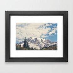 Mount Rainier Framed Art Print