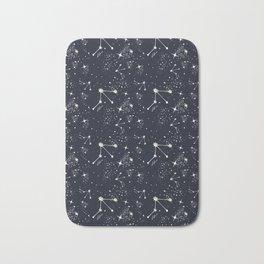 Zodiac Constellations - Libra Bath Mat