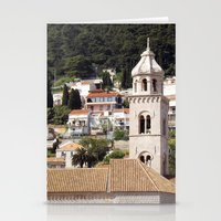 buildings Stationery Cards featuring BUILDINGS by Greenteaelf