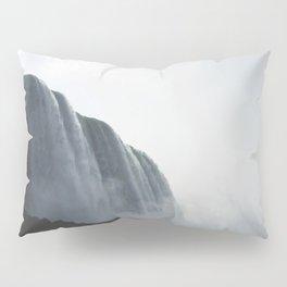 From below where all the water falls, Niagara 01 Pillow Sham