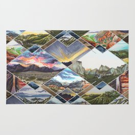 Diamond Mountains Rug