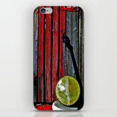 The Conductor's Banjo iPhone & iPod Skin