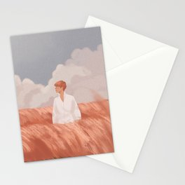 Pink Muhly Stationery Cards