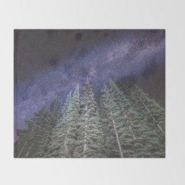 Lightyears - Milkyway Forest Throw Blanket