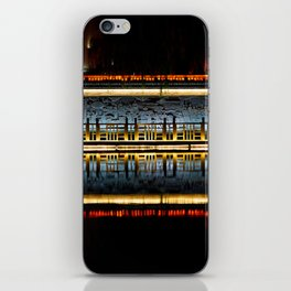 Temple reflection iPhone Skin
