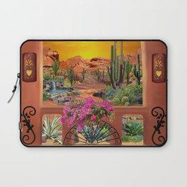 Sonoran Desert Landscape Laptop Sleeve