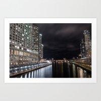 Chicago Nights Series 3 Art Print