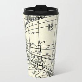 Ship Scaffold-1924 Travel Mug