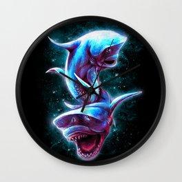 Bull Sharks Wall Clock