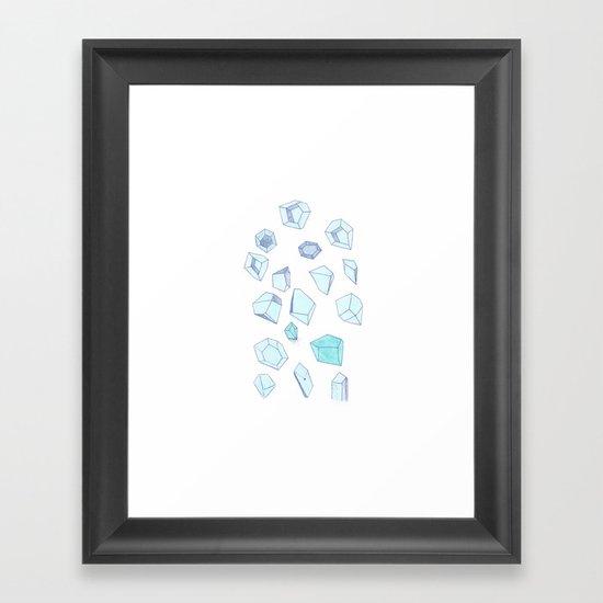 Gems II Framed Art Print