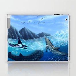 Blue Harmony Laptop & iPad Skin