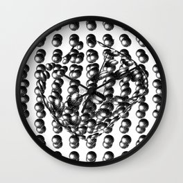 Atoms Wall Clock