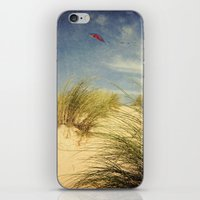dune iPhone & iPod Skins featuring dune & kite by Dirk Wuestenhagen Imagery