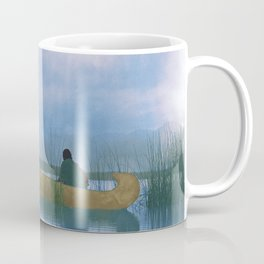 Kutenai duck hunter - American Indian Coffee Mug