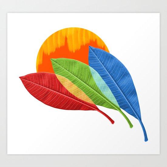 mezze stagioni Art Print