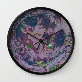 Under Water Creation Wall Clock