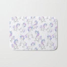 Unicorn Sparkles Bath Mat