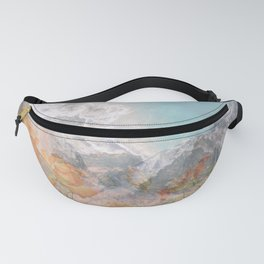 Nature Collage Fanny Pack