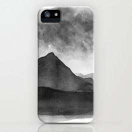 Mt Gould, Tasmania iPhone Case