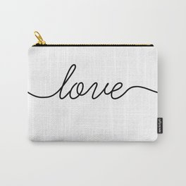Peace love joy (2 of 3) Carry-All Pouch