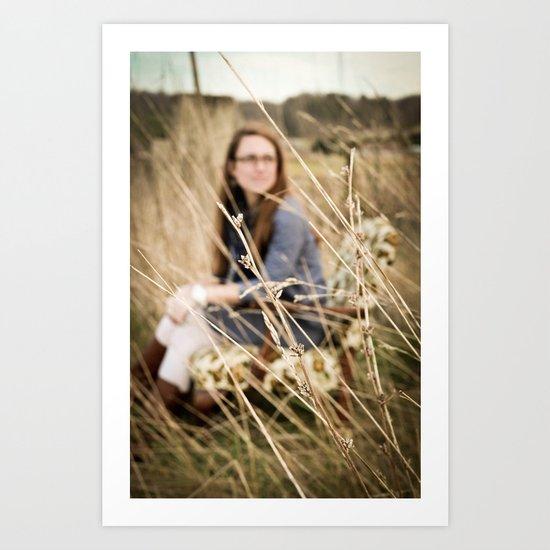 Bethany in the Wild Art Print
