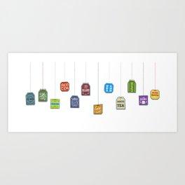 c[_] I love tea c[_] Art Print