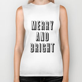 Merry and Bright Biker Tank