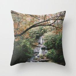 Tom Branch Falls Throw Pillow