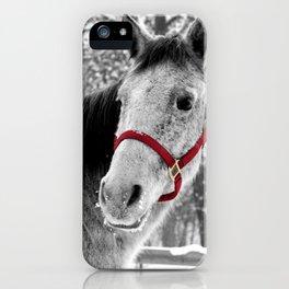 Red Halter iPhone Case
