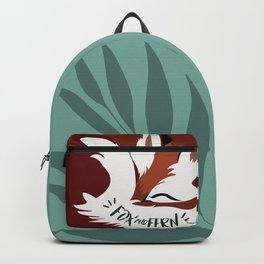 Fickle the Fox Backpack