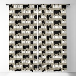 Angry Animals: Bad Ass Donkey Blackout Curtain