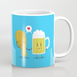 Fried Chicken + Beer = Love Coffee Mug