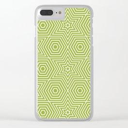 Op Art 21 Clear iPhone Case