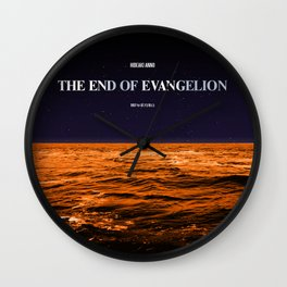 Movie Poster: The End of Evangelion Wall Clock