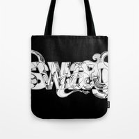 swag Tote Bags featuring swag by limeflavored