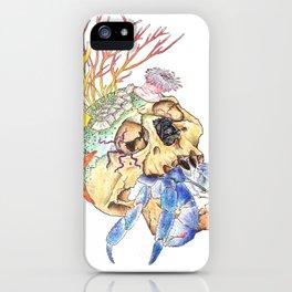 Home I: Hermit Crab iPhone Case