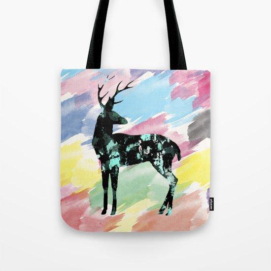 Abstract Deer Tote Bag